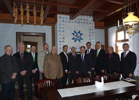 Besuch im Hayungshof und beim Heimatverein Dunum 2014
